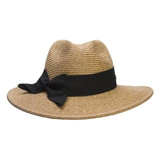 Cappelli Large Paper Braid Fedora w/ Ribbon|https://ak1.ostkcdn.com/images/products/is/images/direct/2e68532ecf83af59b338368aa4d2dda743185f56/Cappelli-Large-Paper-Braid-Fedora-w--Ribbon.jpg?impolicy=medium