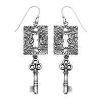 Lock and Key Earrings - Exclusive Beadaholique Jewelry Kit