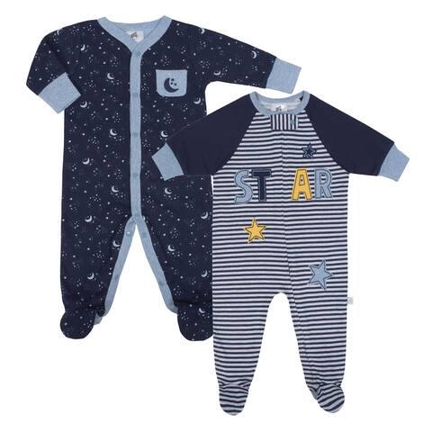 Just Born Space 2-Pack Organic Sleep 'N Play