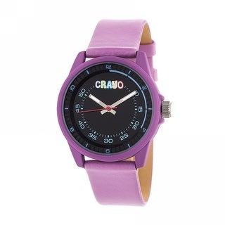 Crayo Jolt Unisex Quartz Watch, Luminous Hands