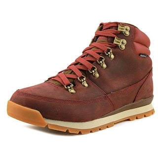 The North Face Back-To-Berkeley Redux Men  Round Toe Leather Red Hiking Shoe