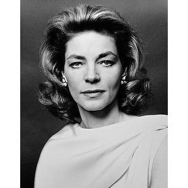 Lauren Bacall, Vintage 1977 Gelatin Silver Photograph, Jack Mitchell