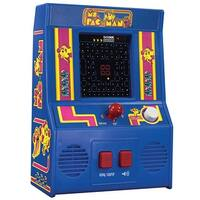 Schylling Miniature Ms. Pac-Man Retro Arcade Video Game - Battery Operated - Blue - 2.6 in. x 6 in. x 11�in.