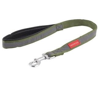 Nylon Reflective Line Hand Protective Handle Dog Leashes Band Army Green