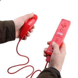 Built in Motion Plus Remote + Nunchuck Controller Case for Wii Red|https://ak1.ostkcdn.com/images/products/is/images/direct/2e6c96f639797a5383a957852b3a831ca3fc65d1/Built-in-Motion-Plus-Remote-%2B-Nunchuck-Controller-Case-for-Wii-Red.jpg?impolicy=medium