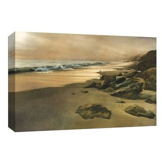"""PTM Images 9-147974  PTM Canvas Collection 8"""" x 10"""" - """"Beach At Dusk"""" Giclee Beaches Art Print on Canvas"""