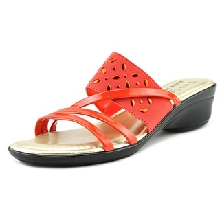 Easy Street Atessa Women W Open Toe Synthetic Slides Sandal