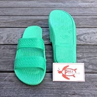 Pali Hawaii Jandals GREEN with Certificate of Authenticity
