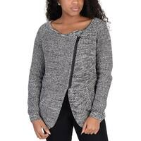 Adidas Womens Zip Cardigan Grey - Grey/White/Black