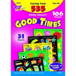 Stinky Stickers Mixed Shapes 525/Pk