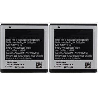 New Replacement Battery For SAMSUNG Galaxy S Mobile Smart Phone ( 2 Pack)