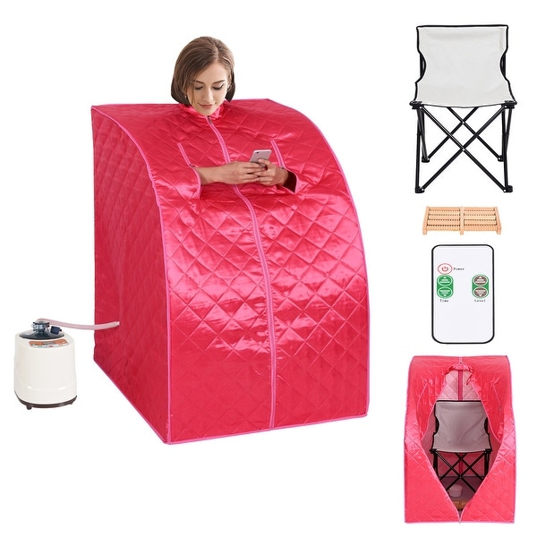 2L Portable Steam Sauna Room Tent Home Indoor Loss Weight Slimming Skin Spa New