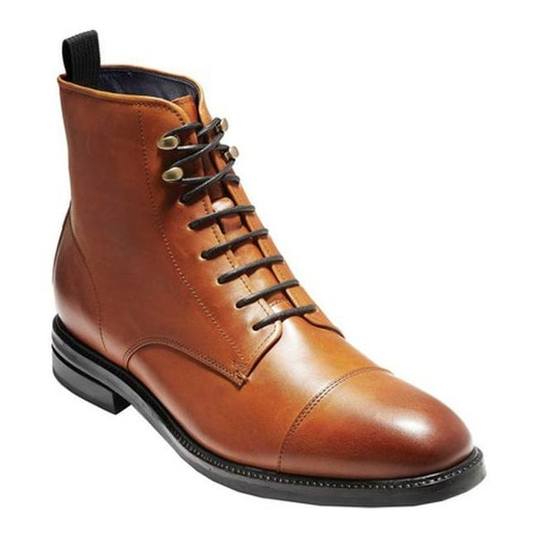 f359b490265 Shop Cole Haan Men's Wagner Grand Cap Oxford Boot Mesquite ...