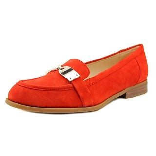 Nine West Townhall Women Moc Toe Suede Loafer