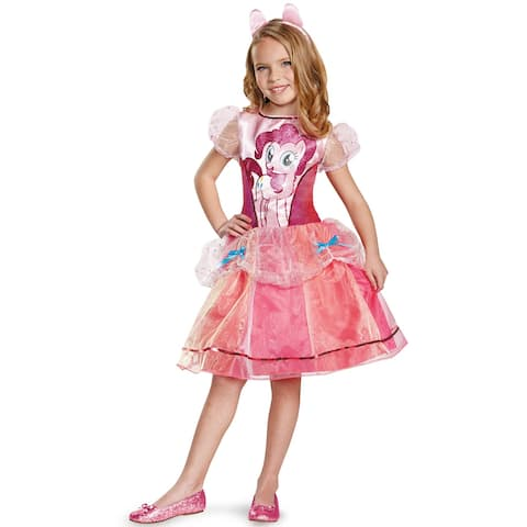 Disguise Pinkie Pie Deluxe Child Costume - Pink