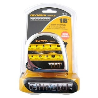 Olympia Tools 43-116 Tape Measure, 16'x3/4""