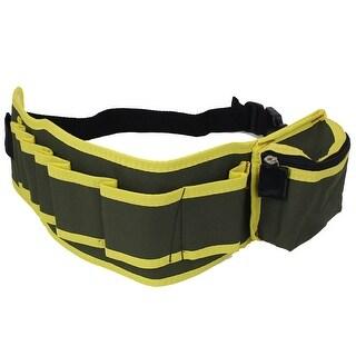 Unique Bargains Electrician Adjustable Buckle Strap Pliers Scissors Tool Waist Belt Bag