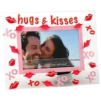 Top Shelf Hugs and Kisses Picture Frame
