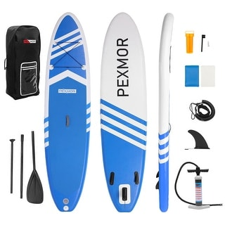 Link to Inflatable Stand Up Paddle Board for Fishing Yoga Paddle Boarding with Premium SUP Accessories & Carry Bag Similar Items in Boats & Kayaks