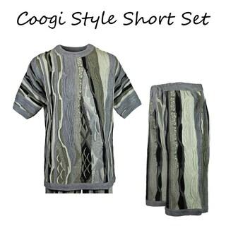 Blue Ocean Coogi Style Set (Option: Green - XL)