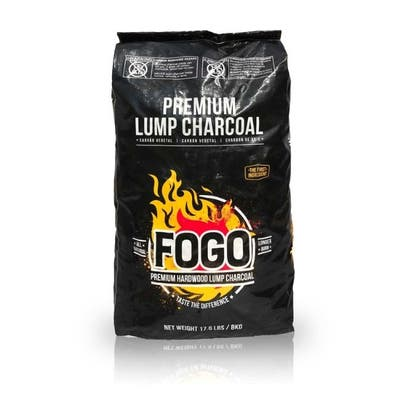 Fogo Premium All Natural Oak Hardwood Lump Charcoal 17.6 lb.