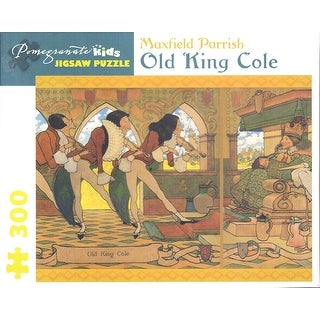 Maxfield Parrish 300 Piece Puzzle Old King Cole