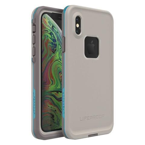 Lifeproof FRE SERIES Waterproof Case for iPhone Xs - Body Surf (Cement/Gargoyle/Hawaiian Ocean) - Grey