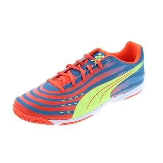 Puma Mens Trovan Lite Indoor Soccer Printed Athletic Shoes