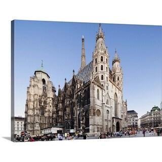 """St. Stephen's Cathedral, Vienna, Austria"" Canvas Wall Art"
