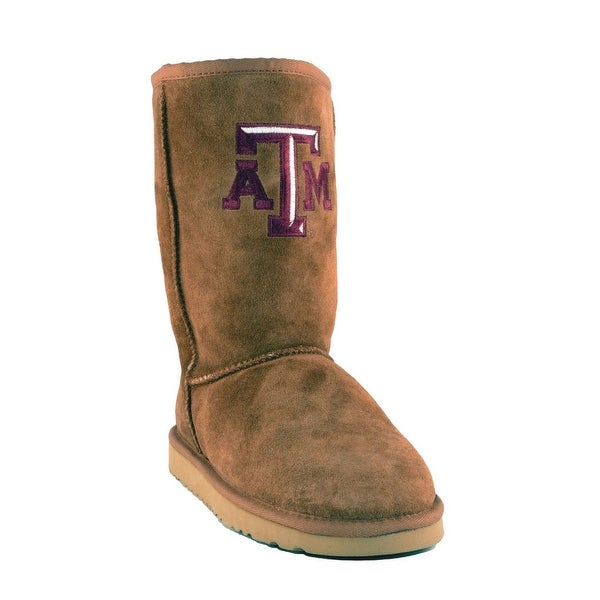 Gameday Boots Womens Texas A&M Reveille Roadie Hickory TAM-RL1018-1