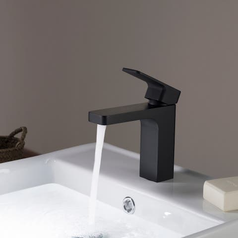 Solid Brass Lead Free Single Handle Bathroom Faucet / Bath Faucet