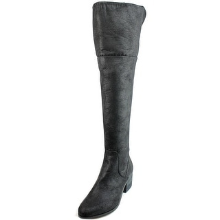 Report Fisher Women Round Toe Synthetic Over the Knee Boot