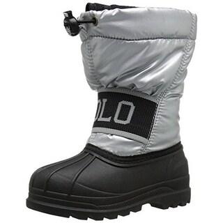 Polo Ralph Lauren Boys Jakson Adjustable Insulated Winter Boots - 5