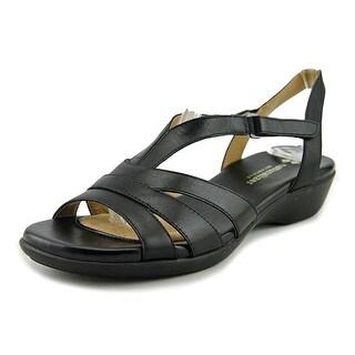 Naturalizer Neina N/S Open-Toe Leather Slingback Sandal