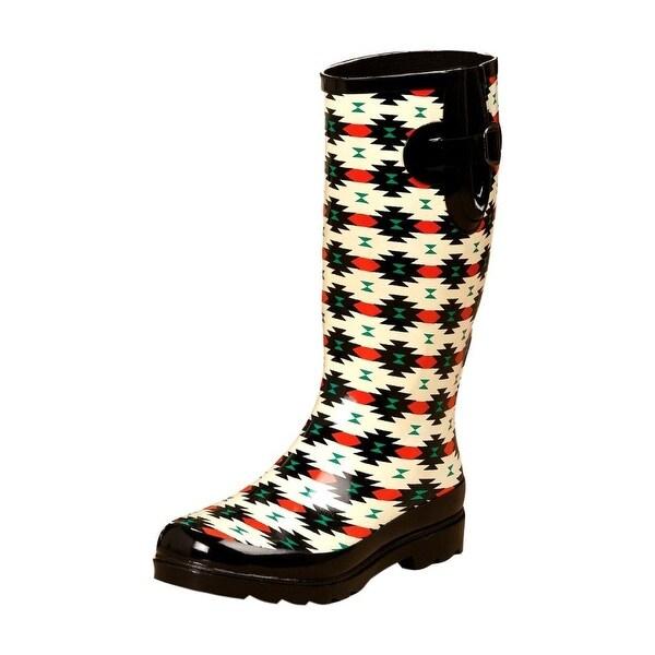 Blazin Roxx Outdoor Boots Womens Hattie Waterproof Black Red