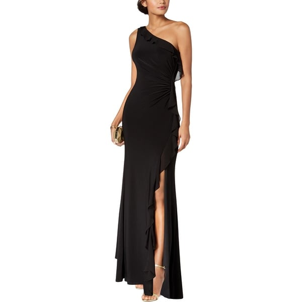 Vince Camuto Womens Evening Dress One Shoulder Full-Length