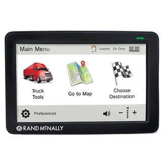 Rand McNally TND730LM 7-inch GPS Truck Navigation System w/ Free Lifetime Maps Updates
