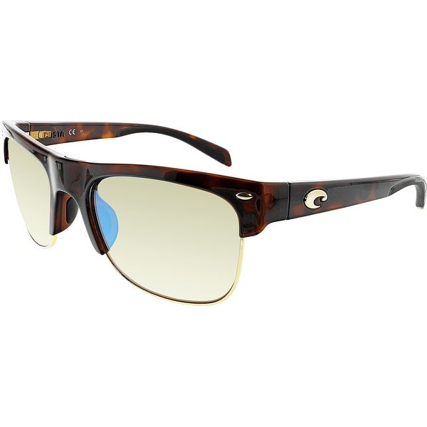 ecd7f01ab5a2 Costa Del Mar Polarized Pawleys PW66OGMGLP Brown Square Sunglasses