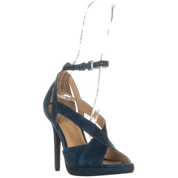e0439777f38e Shop Michael Kors Becky Ankle Strap Criss Cross Sandals