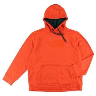 The North Face Mens Surgent Hoodie Orange