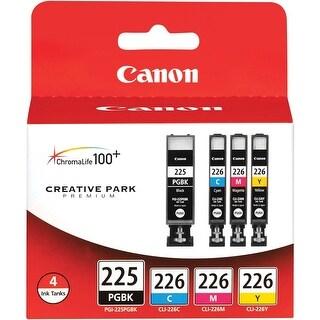 Canon PGI-225 Printer Ink Cartridge (4530B008) - black, cyan, yellow, magenta