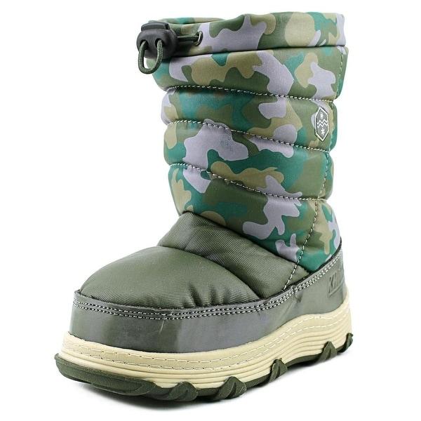 Khombu Juniper Pull On Round Toe Synthetic Winter Boot