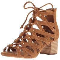 Aerosoles Womens Middle Suede Open Toe Casual Strappy Sandals