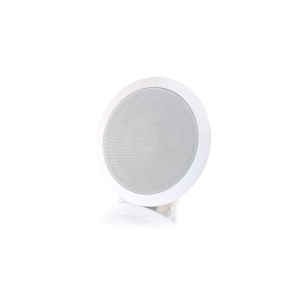 C2G 39904 C2G Cables To Go 6in Ceiling Speaker - White - 90 Hz to 20 kHz - 8 Ohm - Ceiling Mountable