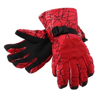 Outdoor Cycling Biking Snowmobile Snowboard Ski Gloves Athletic Mittens Red XL