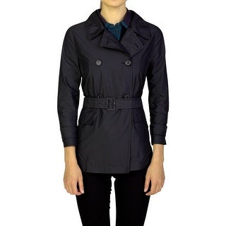 Prada Women's Polyester Double Breasted Jacket Black - 42