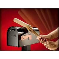 Solar Group Blk Ironside Stl Mailbox MB801B Unit: EACH