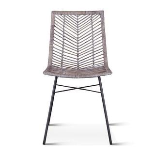 Bali Kubu Rattan Dining Chairs, Set of 2