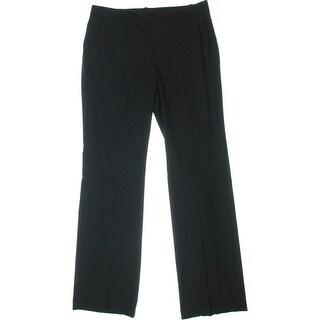 Zara Basic Womens Wide Leg Flat Front Dress Pants - 8
