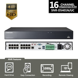 SNR-D5401 - Samsung 16 Channel 4MP SuperHD NVR for SNK-D5081